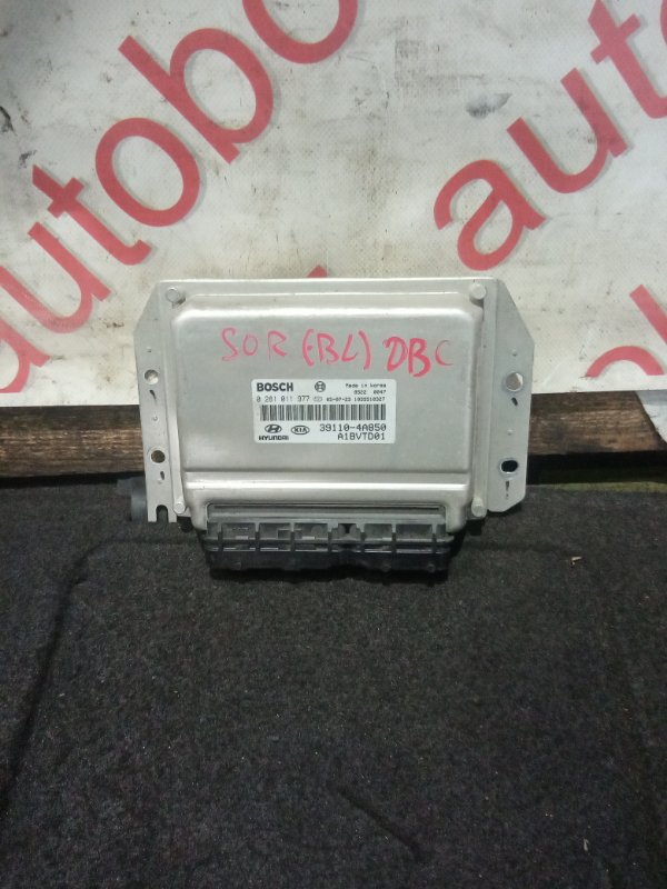 Блок управления двигателем Kia Sorento BL D4CB 2005