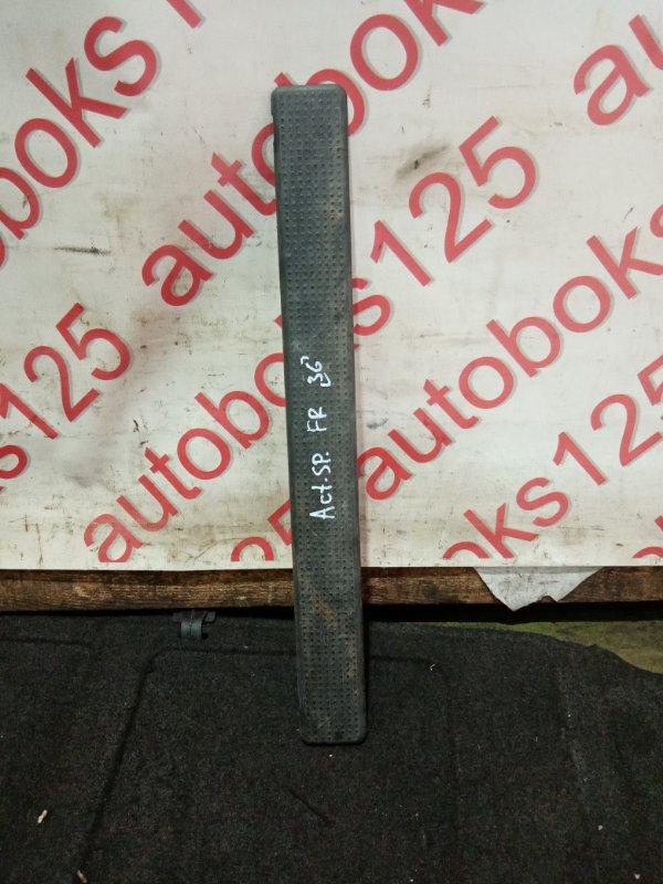 Накладка на порог Ssangyong Actyon Sports D20DT (664) 2007 передняя правая