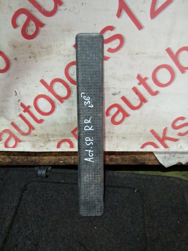Накладка на порог Ssangyong Actyon Sports D20DT (664) 2007 задняя правая