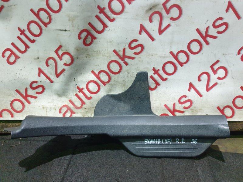 Накладка на порог Hyundai Sonata YF G4KD 2011 задняя правая