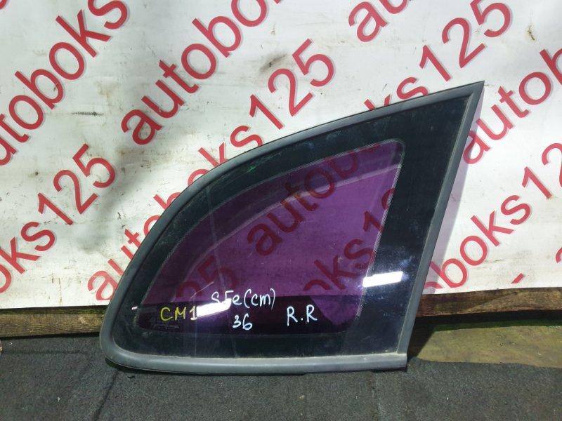 Стекло собачника Hyundai Santa Fe CM 2011 заднее правое