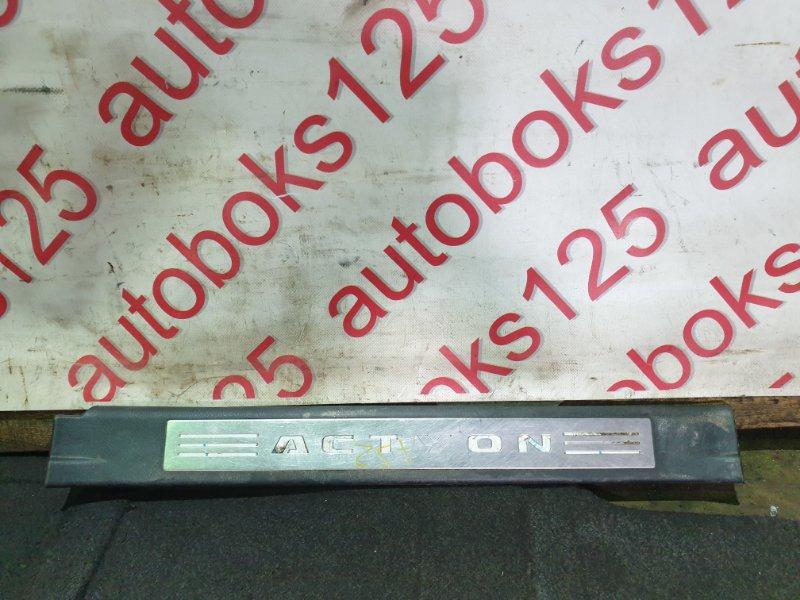 Накладка на порог Ssangyong Actyon Sports D20DT (664) 2006 передняя правая