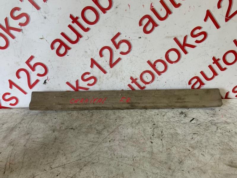 Накладка на порог Kia Carnival VQ J3 2008 передняя правая