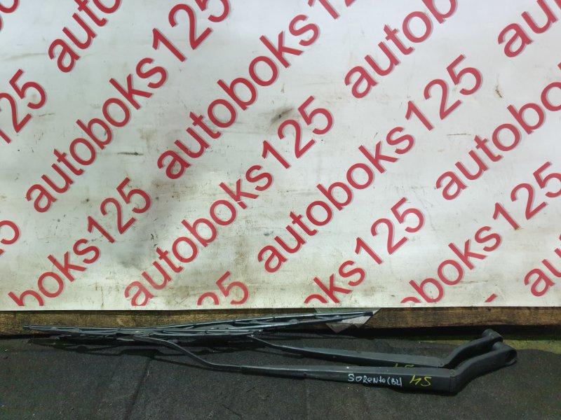 Держатель щетки стеклоочистителя Kia Sorento BL D4CB 2007 передний