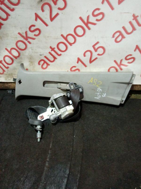 Ремень безопасности Ssangyong Actyon Sports D20DT (664) 2007 передний левый