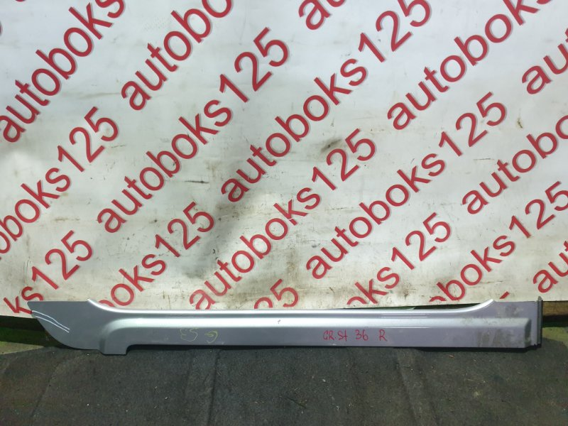Молдинг на дверь Hyundai Grand Starex TQ D4CB 2009 задний правый