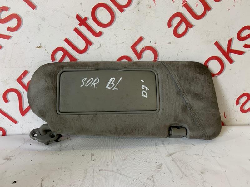 Козырек солнцезащитный Kia Sorento BL D4CB 2007 правый