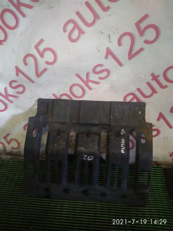 Защита двигателя Ssangyong Musso Sports FJ OM662 (662 910) 2003