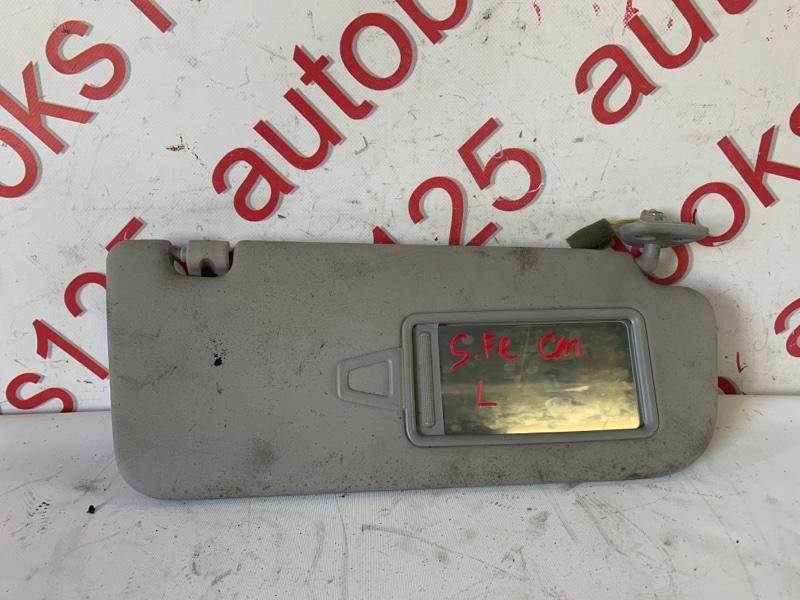 Козырек солнцезащитный Hyundai Santa Fe CM D4HA 2011 левый