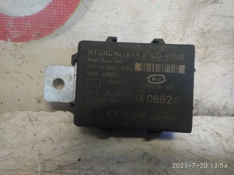 Иммобилайзер Hyundai Santa Fe CM D4EB 2007