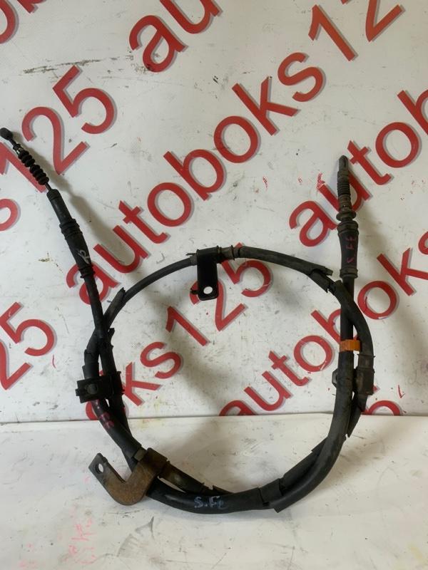 Трос ручника Hyundai Santa Fe CM D4HA 2011 правый