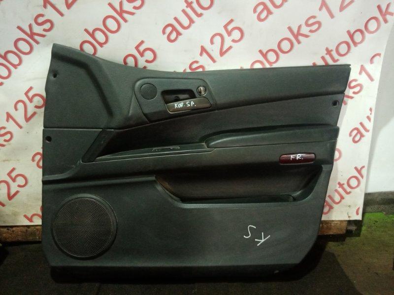 Обшивка двери Ssangyong Korando Sports D20DTR (671960) 2013 передняя правая
