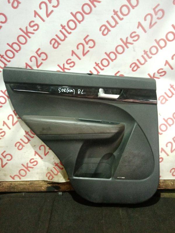 Обшивка двери Kia Sorento XM 2013 задняя левая