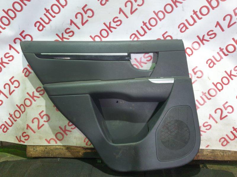 Обшивка двери Hyundai Santa Fe CM 2012 задняя левая