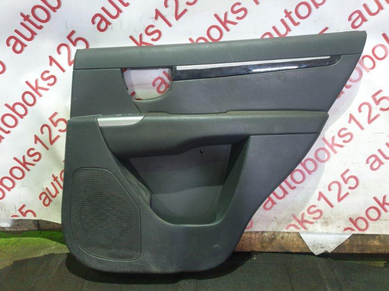 Обшивка двери Hyundai Santa Fe CM 2012 задняя правая