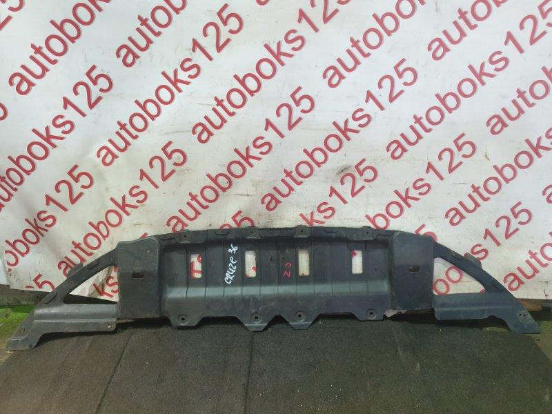 Защита бампера Chevrolet Cruze J300 F18D4 2011 передняя