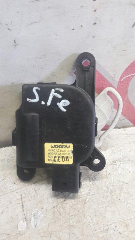 Мотор заслонки печки Hyundai Santa Fe CM D4EB 2007