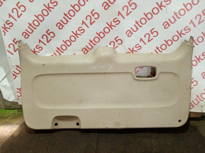 Обшивка двери багажника Kia Carnival VQ J3 2008
