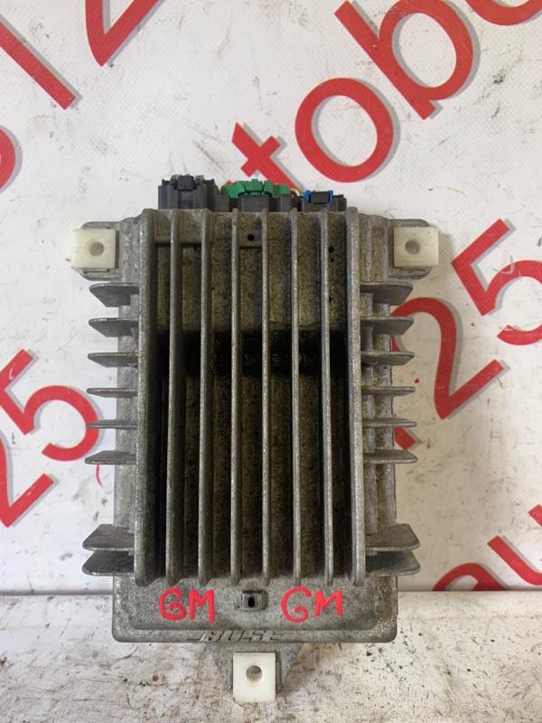 Усилитель магнитолы Chevrolet Captiva