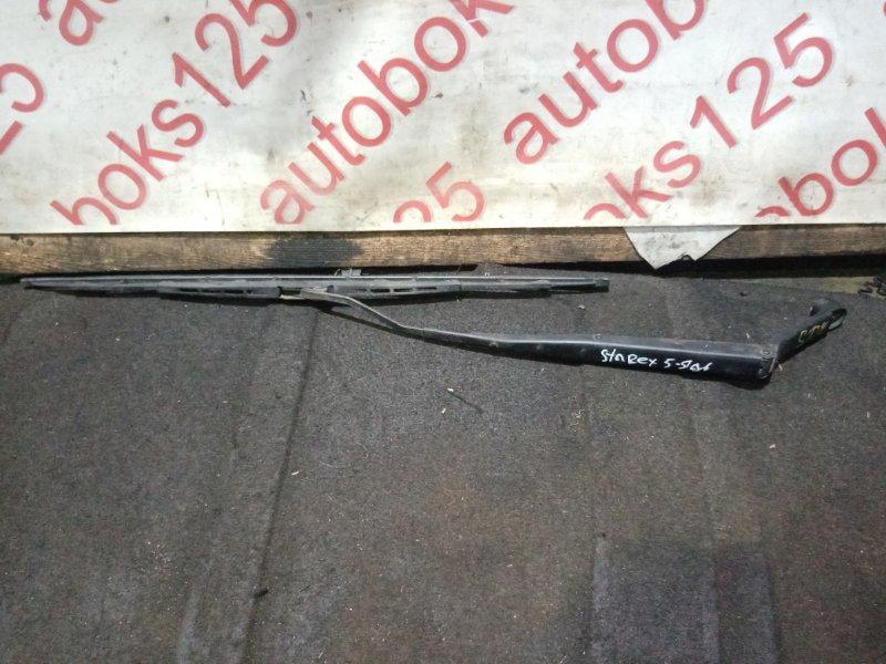 Держатель щетки стеклоочистителя Hyundai Starex A1 D4BH 2003 задний