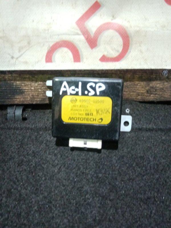 Блок управления Ssangyong Actyon Sports D20DT (664) 2007