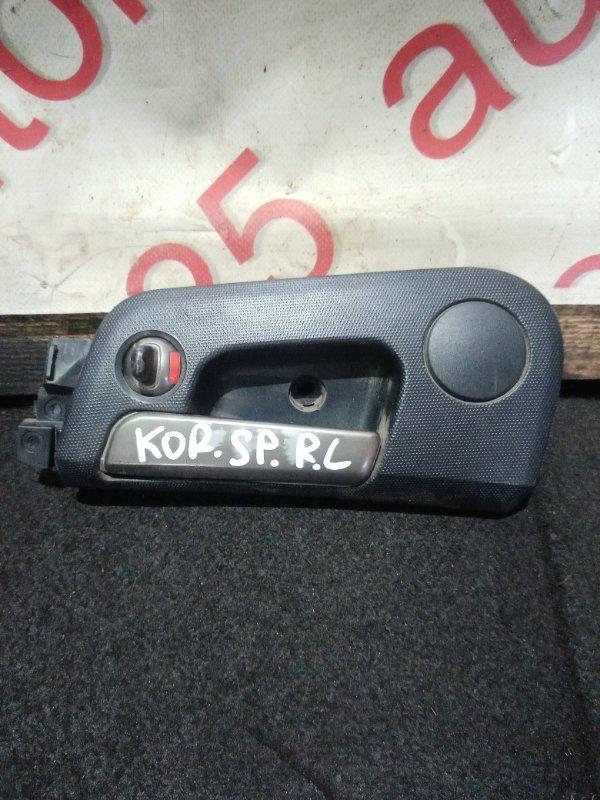 Ручка двери внутренняя Ssangyong Korando Sports D20DTR (671960) 2013 задняя левая