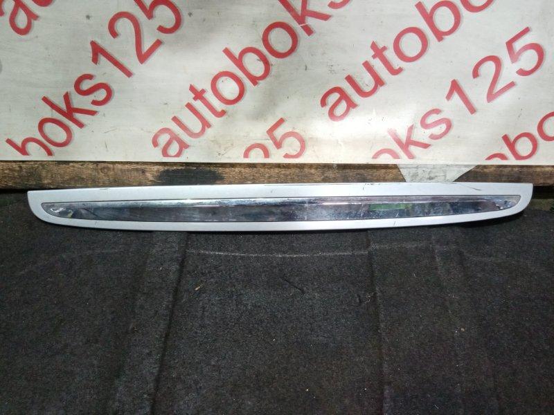 Накладка на дверь багажника Hyundai Santa Fe CM 2010