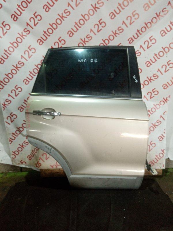 Дверь Daewoo Winstorm KLAC Z20S 2008 задняя правая