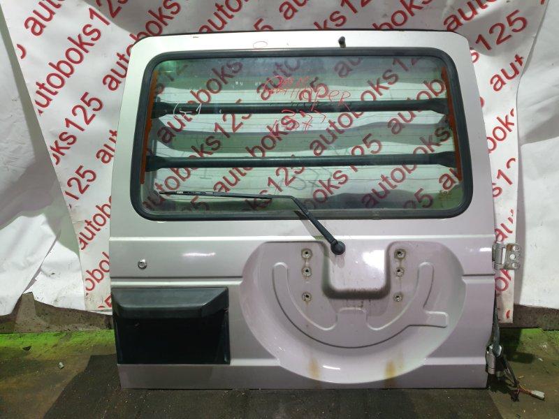 Дверь 5-я Hyundai Galloper JK D4BH 2002