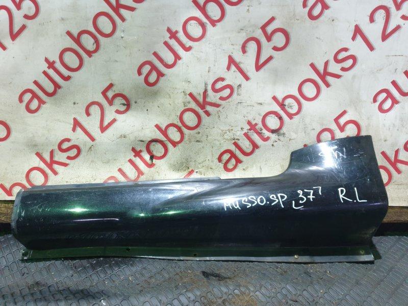 Порог Ssangyong Musso Sports FJ OM662 (662 920) 2003 задний левый