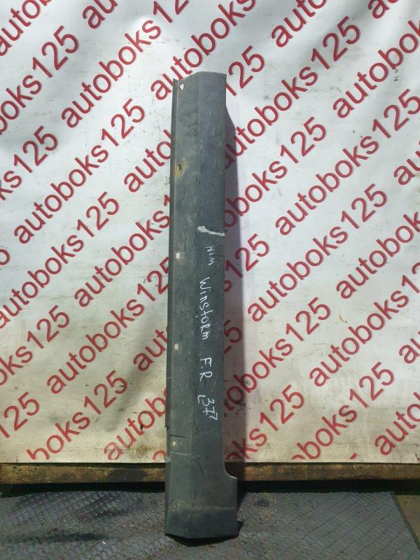 Порог Daewoo Winstorm KLAC Z20S 2008 передний правый