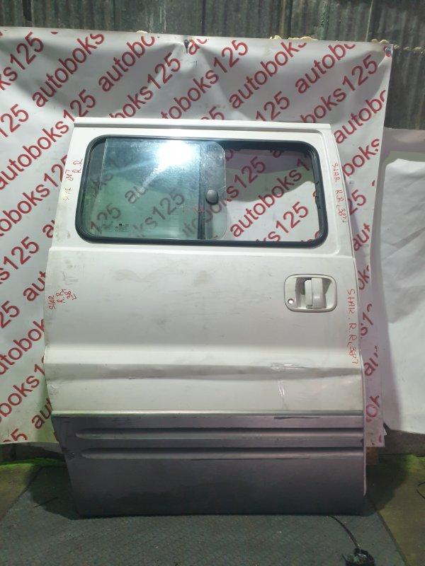Дверь Hyundai Starex A1 D4CB 2003 задняя правая