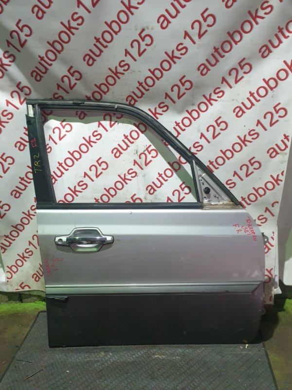 Дверь Hyundai Terracan HP D4BH 2001 передняя правая