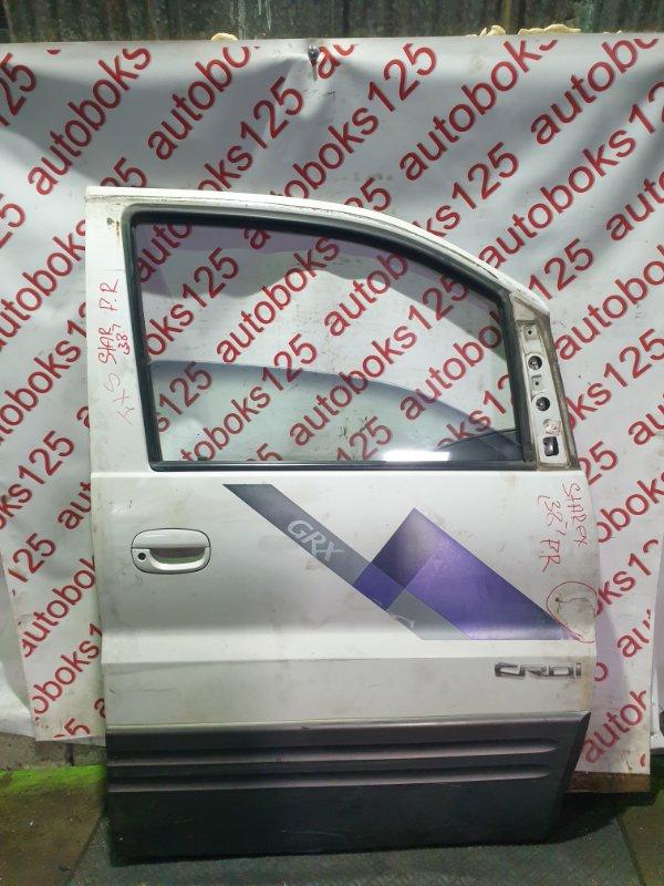 Дверь Hyundai Starex A1 D4CB 2003 передняя правая