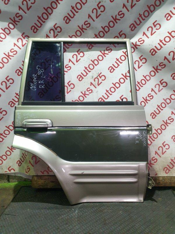 Дверь Hyundai Galloper JK D4BH 1999 задняя правая