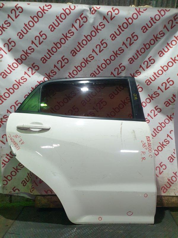 Дверь Ssangyong Actyon CK D20DTF(671950) 2012 задняя правая