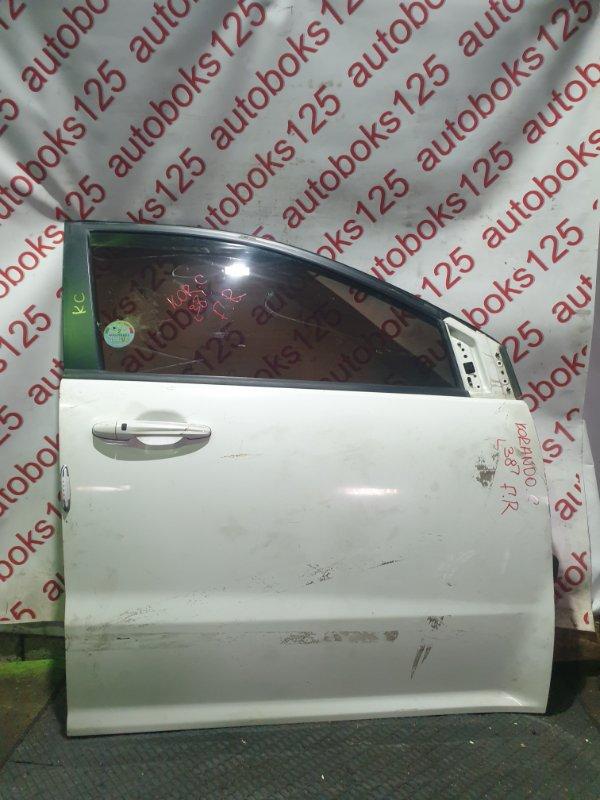 Дверь Ssangyong Actyon CK D20DTF(671950) 2012 передняя правая