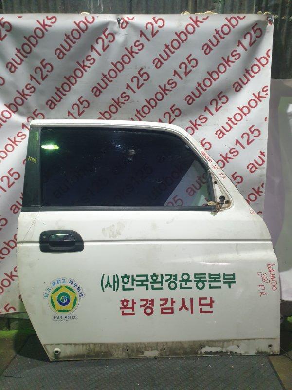 Дверь Ssangyong Korando KJ OM662 (662 910) 2003 передняя правая