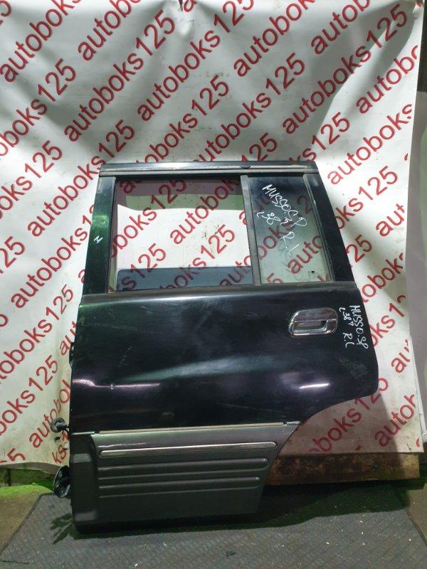 Дверь Ssangyong Musso Sports FJ OM662 (662 920) 2003 задняя левая