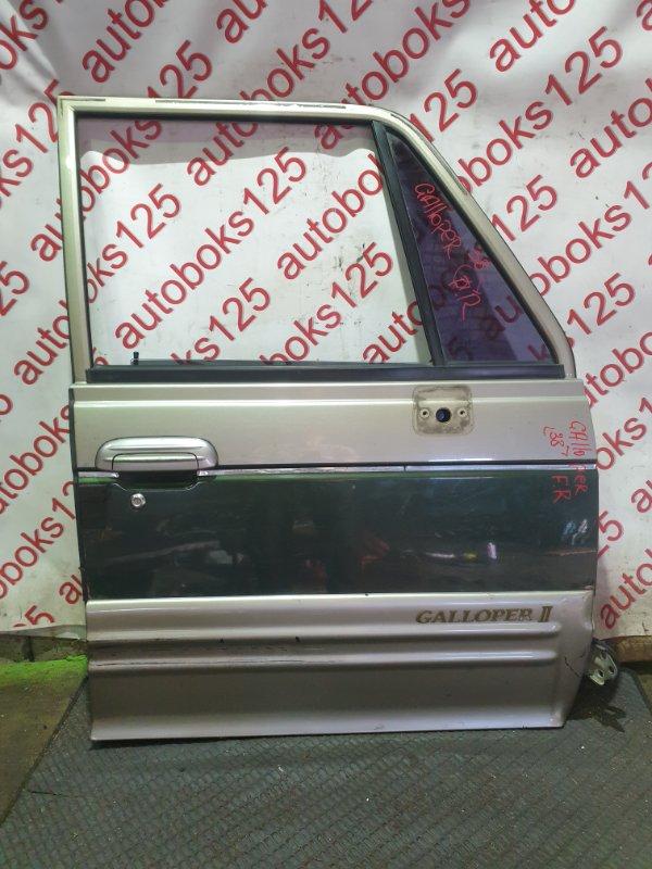 Дверь Hyundai Galloper JK D4BH 1999 передняя правая
