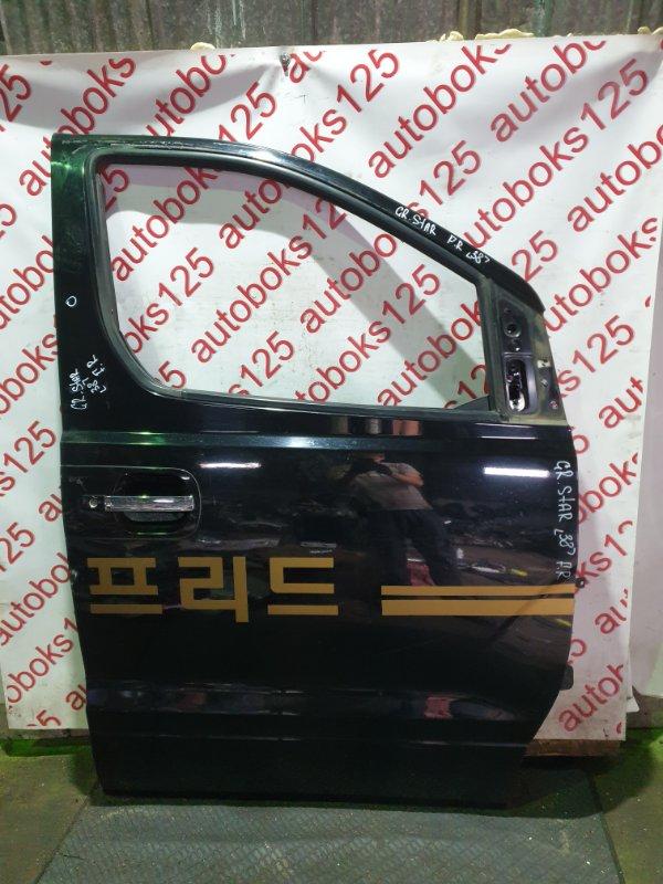 Дверь Hyundai Grand Starex TQ D4CB 2009 передняя правая