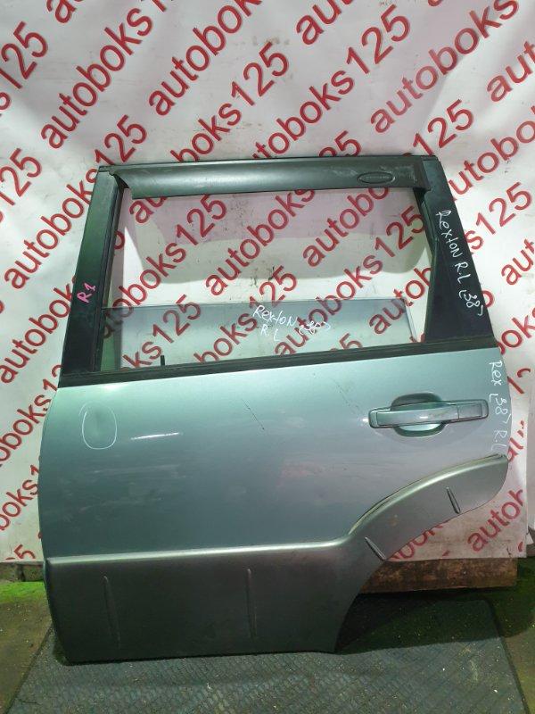 Дверь Ssangyong Rexton OM602 (662 925) 2003 задняя левая