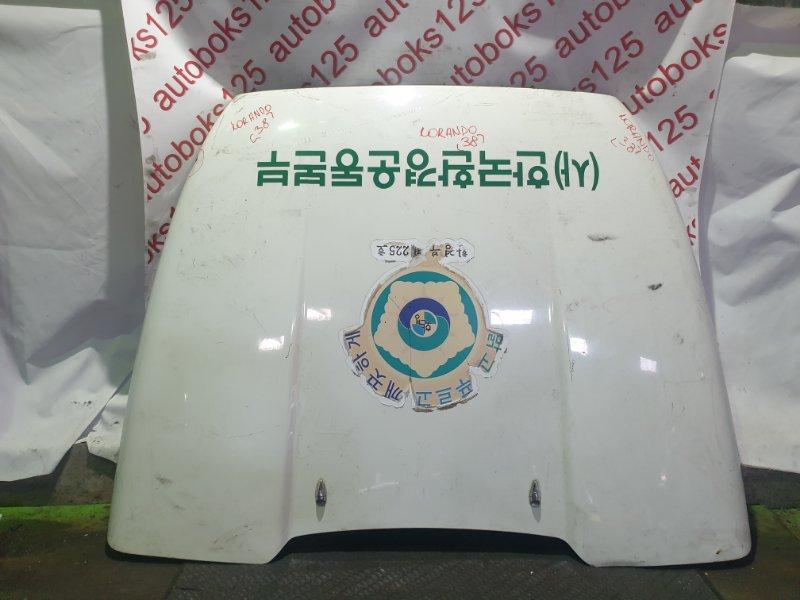 Капот Ssangyong Korando KJ OM662 (662 910) 2003