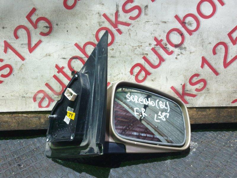 Зеркало Kia Sorento BL D4CB 2005 переднее правое