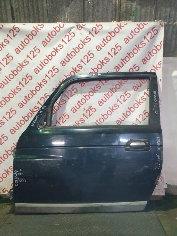 Дверь Ssangyong Korando KJ OM662 (662 910) 2003 передняя левая