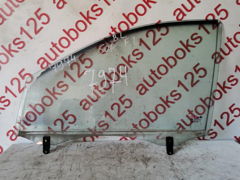 Стекло двери Kia Sorento BL D4CB 2005 переднее левое