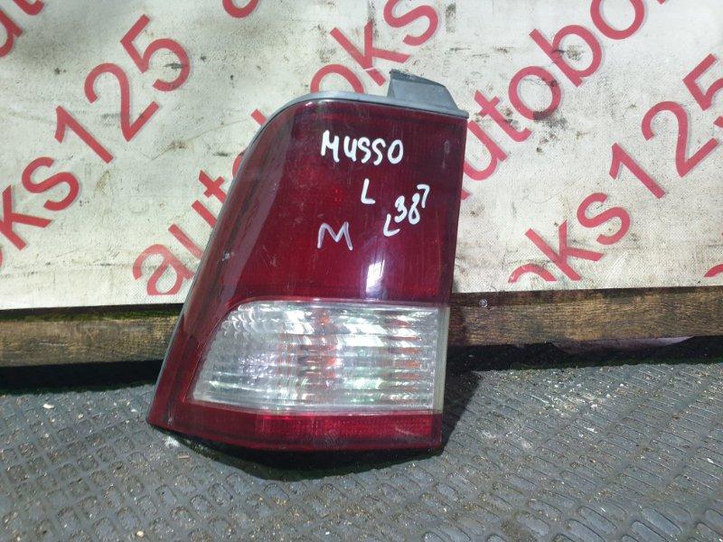 Стоп-сигнал Ssangyong Musso FJ OM662 (662 910) 2003 левый