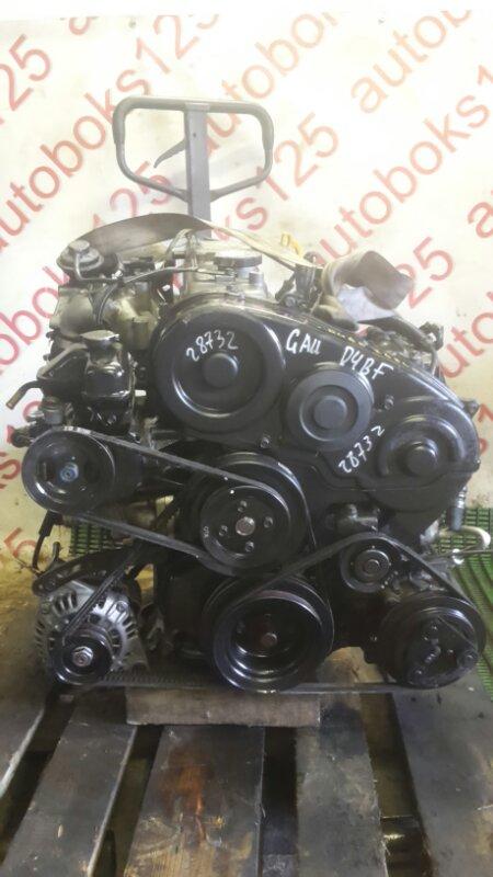 Двигатель Hyundai Galloper JK D4BF 2002