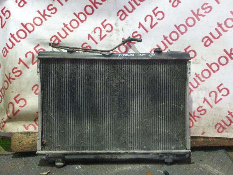 Радиатор двс Ssangyong Korando KJ OM662 (662 910) 2003