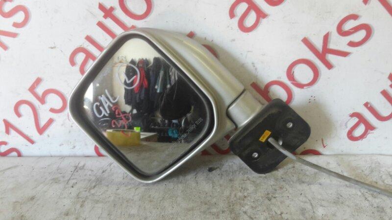 Зеркало Hyundai Galloper JK D4BF 2002 переднее левое